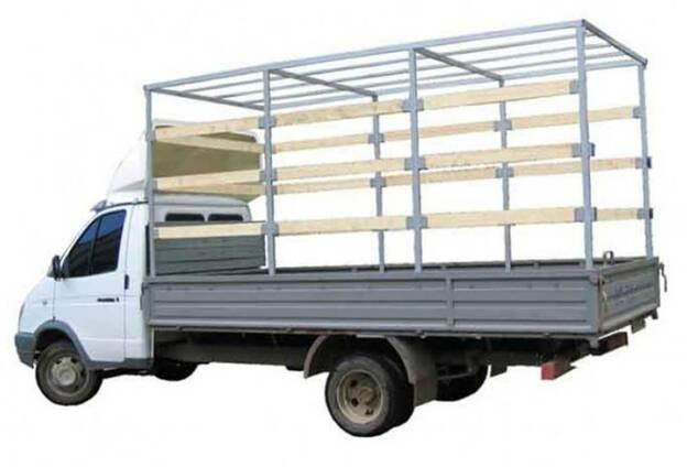 Изготовление каркасов фургонов